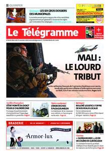 Le Télégramme Quimper – 27 novembre 2019