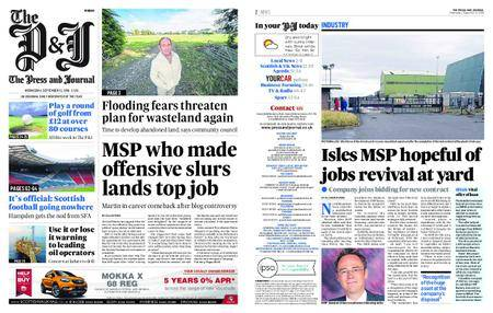 The Press and Journal Moray – September 12, 2018