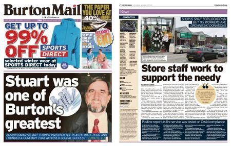 Burton Mail – January 23, 2021