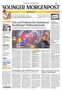 Solinger Morgenpost – 12. Dezember 2018