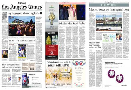 Los Angeles Times – October 28, 2018