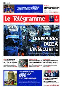 Le Télégramme Brest Abers Iroise – 23 février 2020