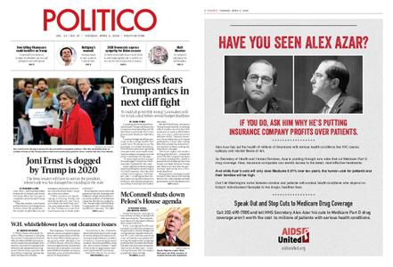 Politico – April 02, 2019