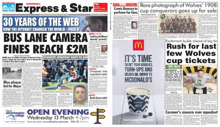 Express and Star Sandwell Edition – March 12, 2019