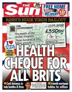 The Sun UK - 18 March 2020