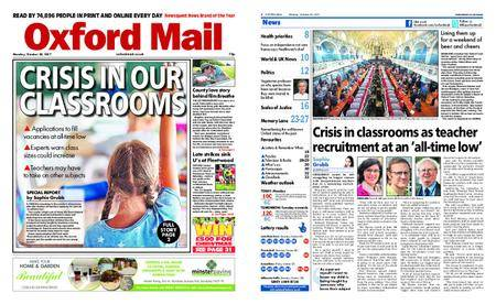 Oxford Mail – October 30, 2017