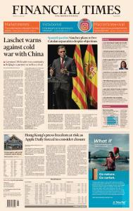 Financial Times Middle East - June 22, 2021