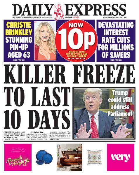 Daily Express - 8 February 2017