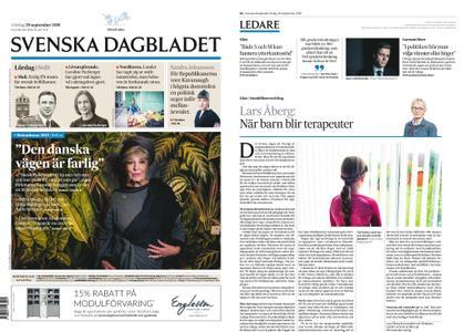Svenska Dagbladet – 29 september 2018