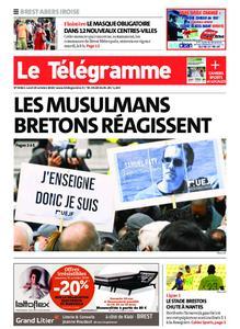 Le Télégramme Brest Abers Iroise – 19 octobre 2020