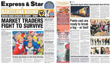 Express and Star City Edition – December 17, 2019