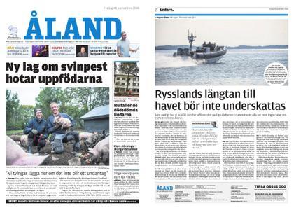 Ålandstidningen – 28 september 2018