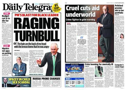 The Daily Telegraph (Sydney) – October 31, 2017