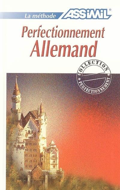 Perfectionnement allemand , Livre avec 4 CD audio