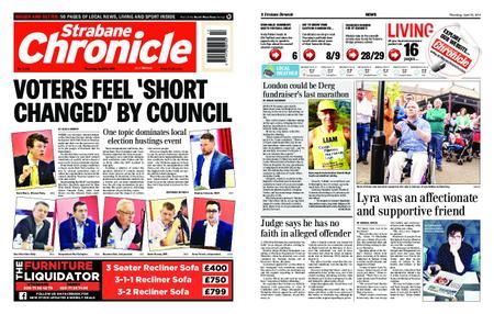 Strabane Chronicle – April 25, 2019