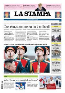 La Stampa Alessandria - 25 Aprile 2019