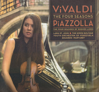 Lara St. John - Vivaldi: Four Seasons / Piazzolla: Four Seasons Of Buenos Aires (2009) PS3 ISO + FLAC {RE-UP}