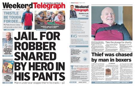 Evening Telegraph First Edition – August 24, 2019