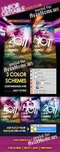 GraphicRiver Unforgettable Party Flyer