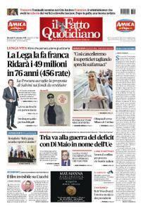 Il Fatto Quotidiano - 19 settembre 2018