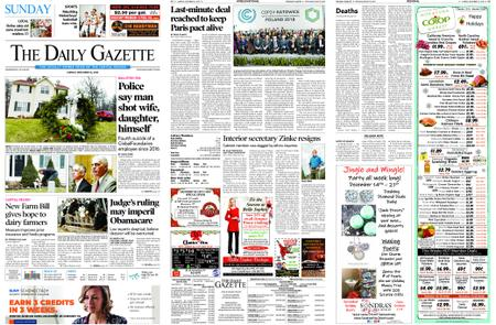 The Daily Gazette – December 16, 2018
