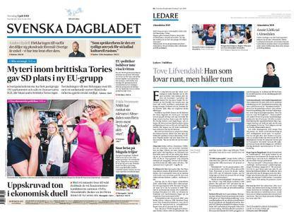 Svenska Dagbladet – 05 juli 2018