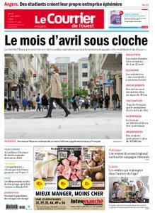 Le Courrier de l'Ouest Angers – 01 avril 2021
