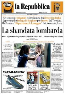 la Repubblica - 16 Aprile 2020