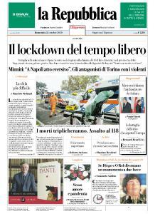la Repubblica - 25 Ottobre 2020