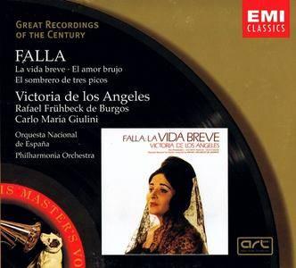 Victoria De Los Angeles, Rafael Fruhbeck de Burgos, Carlo Maria Giulini - De Falla: La Vida Breve (2001)