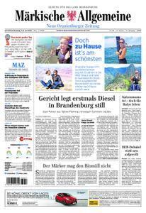 Neue Oranienburger Zeitung - 07. Juli 2018