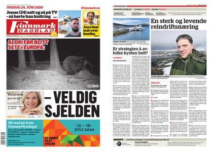 Finnmark Dagblad – 24. juni 2020