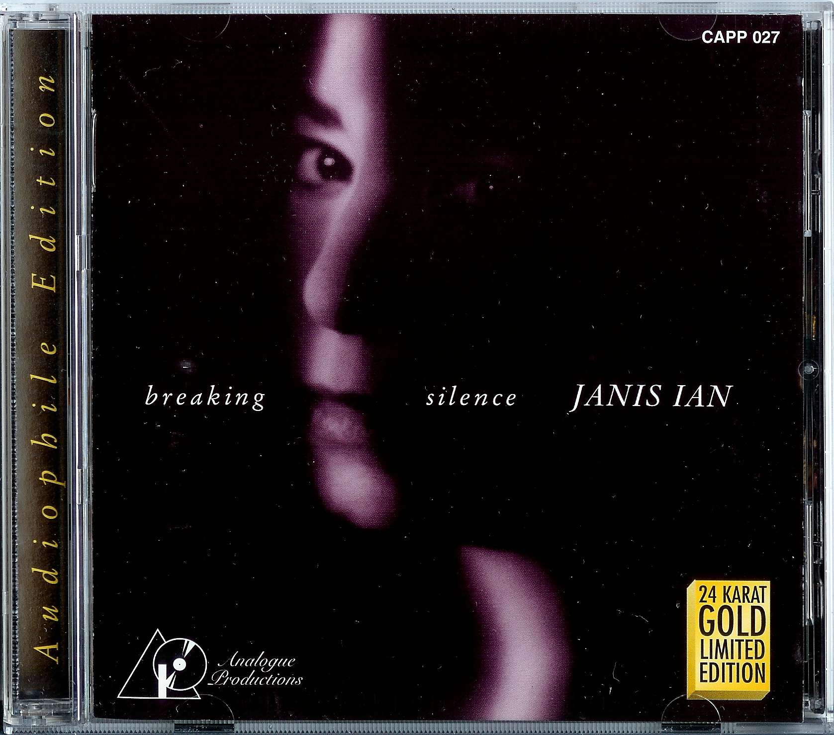 Janis Ian - breaking silence (Analogue Productions 24KT Gold