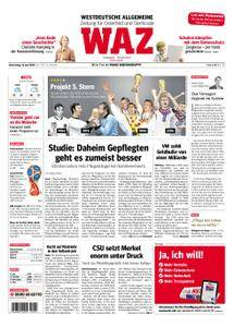 WAZ Westdeutsche Allgemeine Zeitung Oberhausen-Sterkrade - 14. Juni 2018