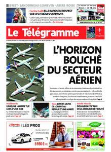 Le Télégramme Brest Abers Iroise – 22 août 2020