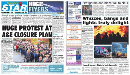Shropshire Star Shrewsbury Edition – November 05, 2018