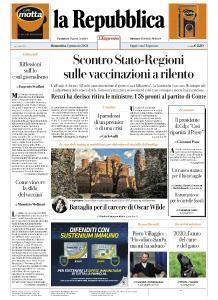 la Repubblica - 3 Gennaio 2021