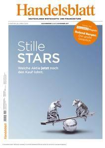 Handelsblatt - 03. November 2017