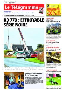Le Télégramme Guingamp – 16 novembre 2019