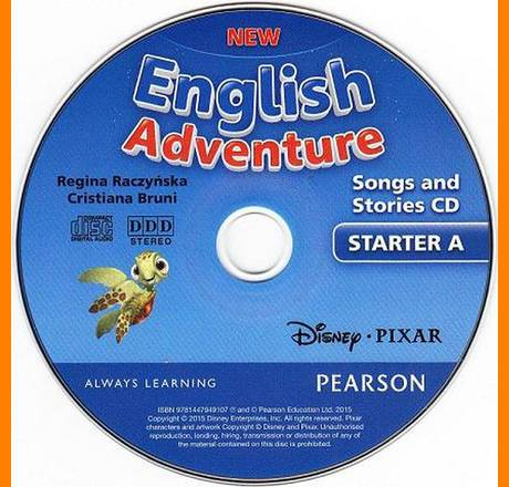 ENGLISH COURSE • New English Adventure • Starter A • AUDIO