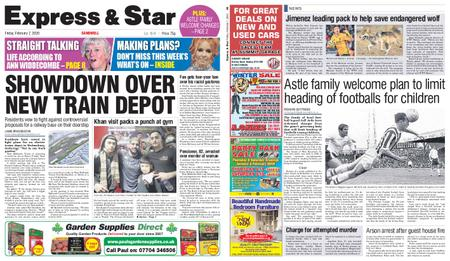 Express and Star Sandwell Edition – February 07, 2020