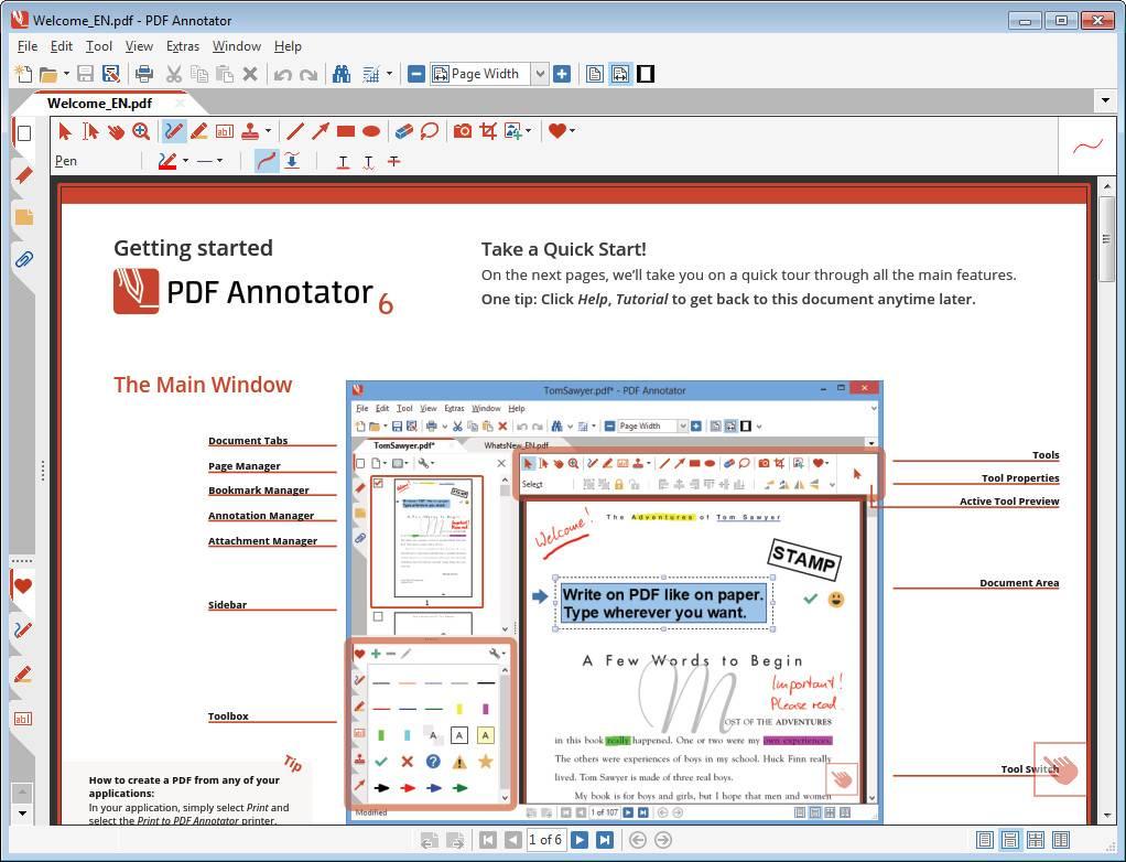 PDF Annotator 6.1.0.608 Multilingual + Portable