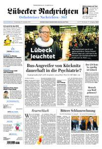 Lübecker Nachrichten Ostholstein Süd - 29. November 2018