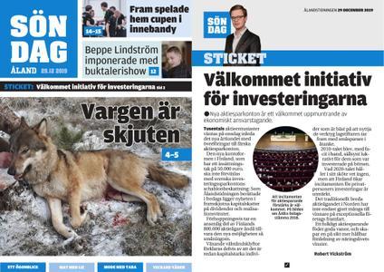 Ålandstidningen – 29 december 2019