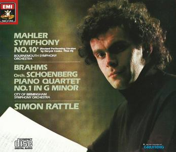 Simon Rattle - Mahler: Symphony No.10, Brahms: Piano Quartet (1985)