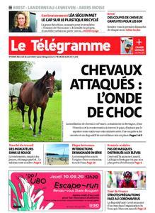 Le Télégramme Brest Abers Iroise – 26 août 2020