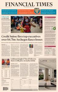 Financial Times Middle East - April 7, 2021