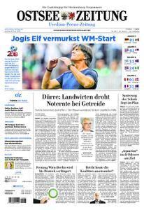 Ostsee Zeitung Wolgast - 18. Juni 2018