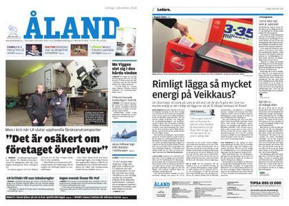Ålandstidningen – 01 december 2018
