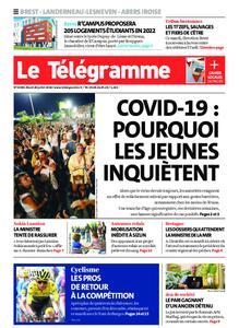 Le Télégramme Brest – 28 juillet 2020